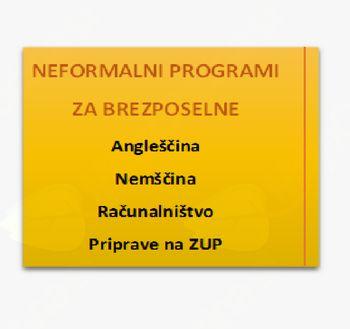 Neformalni programi za brezposelne 2017