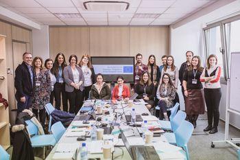 Uvodni sestanek novega Erasmus+ projekta s področja visokega šolstva: Opolnomočenje žensk v znanosti, tehnologiji, inženiringu in matematiki.