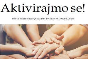 Zaključek 2. programa socialna aktivacija Litija – Točka SoDELOVANJA