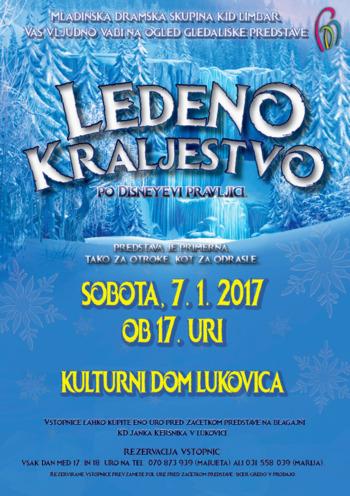 """Gledališka predstava """"Ledeno kraljestvo"""""""