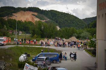Trial dirka za državno prvenstvo v Lukovici