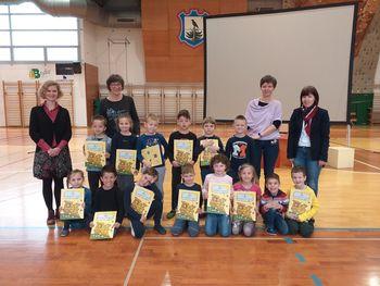 Podelitev bralne značke na Osnovni šoli Vransko-Tabor
