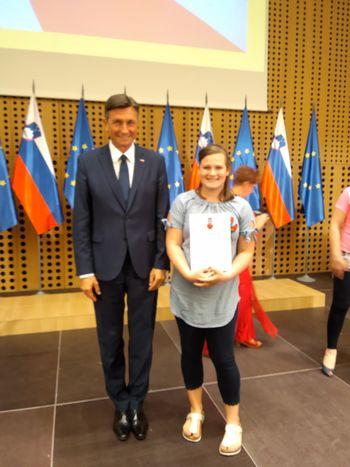 Nika Lipovšek – prostovoljka leta 2018