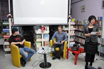 Lovec na tornade v Medobčinski splošni knjižnici Žalec, 16.11.2016