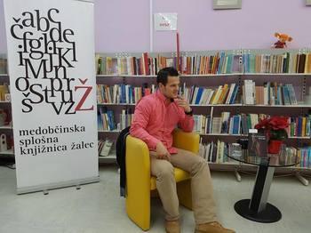 Mitja Duh: Tek za življenjem (Medobčinska splošna knjižnica Žalec, 16. 1. 2017)