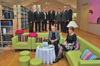 Pogovorni večer v preboldski knjižnici: Ivan Dolinar z desetim izdanim knjižnim delom in ob devetdesetem jubileju