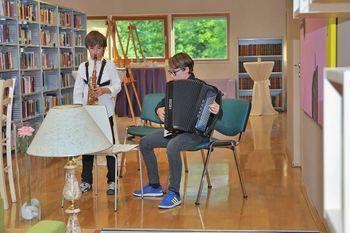 Pozdrav mladosti v preboldski knjižnici
