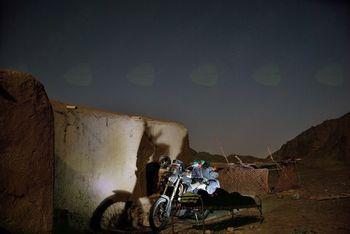Ivan Lipičnik z motociklom do Indije in nazaj