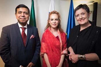 Večer slovensko-bangladeškega prijateljstva na gradu Komenda