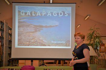 Po Ekvadorju in Galapagosu s Tanjo Lesničar