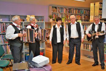 Večer s Prijatelji Šest-še v preboldski knjižnici