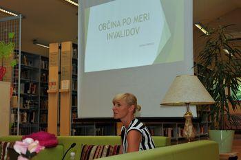 Koordinacija invalidskih organizacij v preboldski knjižnici