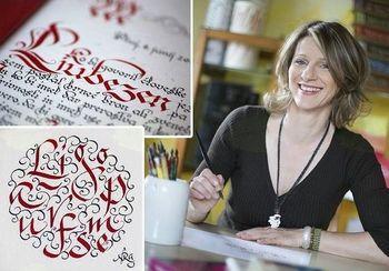 Tečaj kaligrafije - lepopisja v knjižnici Žalec