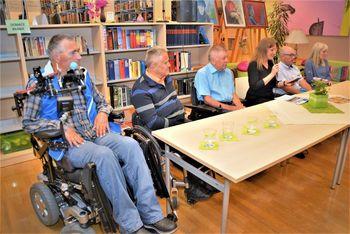 Društvo paraplegikov jugozahodne Štajerske v preboldski knjižnici