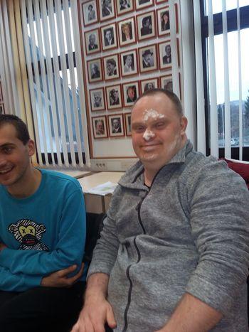 SOŽITJE z miško Požeruško na februarskem druženju v žalski knjižnici