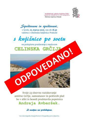 ODPOVEDANO! S knjižnico po svetu: Celinska Grčija