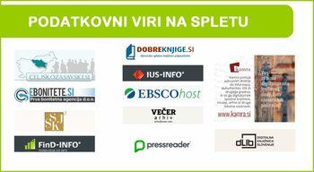 Vabimo vas v virtualni svet knjig, časopisov in informacij slovenskih splošnih knjižnic