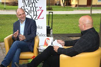 Predstavitev knjige Slepec avtorja Mitje Čandra