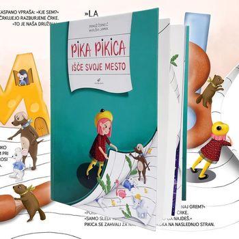 Srečanje s Primožem Černelčem, avtorjem slikanice Pika pikica išče svoje mesto