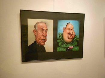 Karikaturist Boris Oblak nastavlja ogledalo