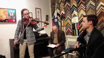 Srečanje z violistko Barbaro Grahor