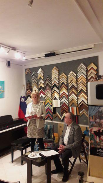 Pogovorni večer s slikarko Alino Asberga Nabergoj