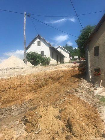 Sanacija plazu na lokalni cesti LC440291 Zgornje Grušovje - Prihova