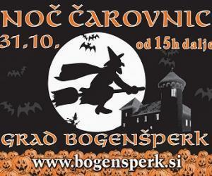 Noč čarovnic na gradu Bogenšperk