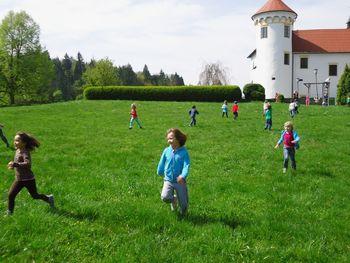 Družinski vikend na idiličnem renesančnem gradu