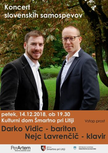 Koncert slovenskih samospevov