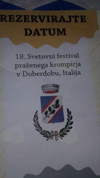 Svetovni festival praženega krompirja - Velenje 2017