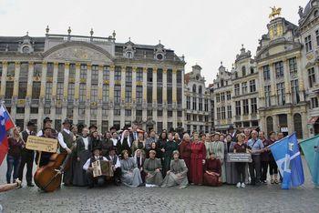 V belgijski prestolnici predstavili izročilo Banjške planote in Posočja