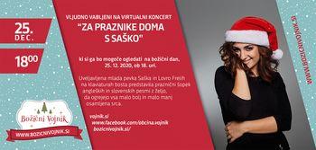 """Koncert """"ZA PRAZNIKE DOMA S SAŠKO"""""""