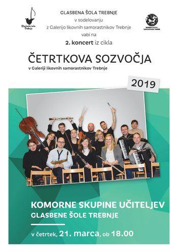 2. koncert iz cikla Četrtkova sozvočja