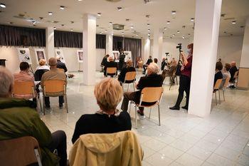 Otvoritev 53. Mednarodnega tabora likovnih samorastnikov Trebnje in nove začasne razstave