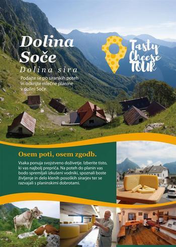 Otvoritev Sirarskih poti - Tasty Cheese Tour v dolini Soče