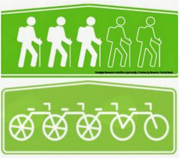 Specializacija za pohodniške in kolesarske nastanitve