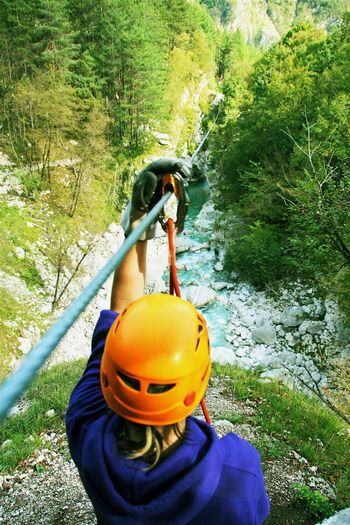 Dolina Soče ima največji zipline park v Evropi