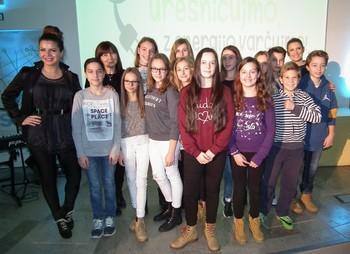Zmagal je videospot učencev in učenk z osnovne šole Puconci in Poljčane