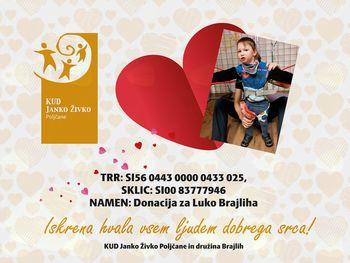 Donacije za Luko Brajliha