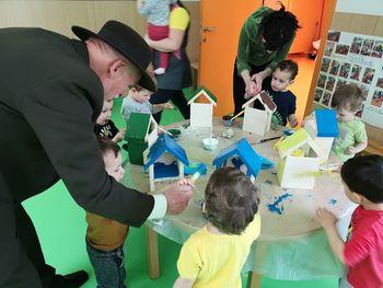 Evropski projekt Trajnostni razvoj Lisce tudi v vrtcu Krmelj