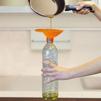Poskrbite za pravilno odlaganje olja za cvrtje krofov