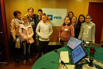 Snemanje na Radiu Slovenija