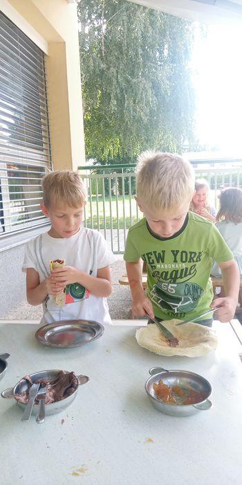 Počitnice v vrtcu v Cirkovcah