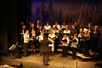 Tradicionalni koncert domačih pevk in pevcev