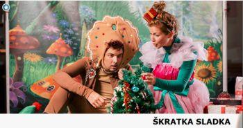 Gledališka predstava za otroke v izvedbi gledališka KU KUC - ŠKRATKA SLADKA