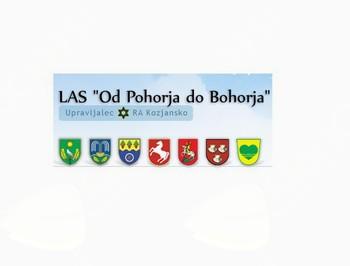 LAS »Od Pohorja do Bohorja« objavlja 1. javni poziv za izbor operacij v letu 2016