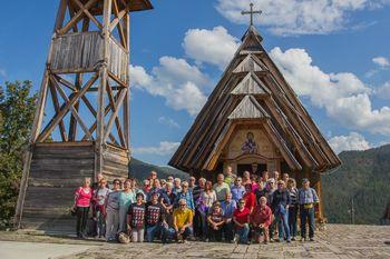 Člani Turističnega društva Bled na izletu v Bosni in Srbiji