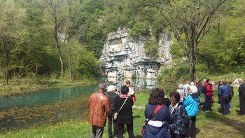 Člani Turističnega društva Bled na ekskurziji v Beli Krajini