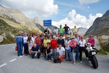 Potovanje članov TD Bled v Švico